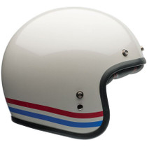 Bell Custom 500 Stripes Helmet - Pearl White