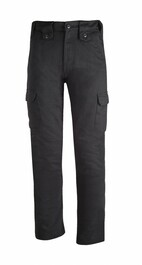 Bull-it SR6 Cargo 17 Easy Fit Jeans - Black