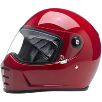 Biltwell Lane Splitter Helmet - Red
