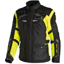 Richa Infinity 3 in 1 Textile Jacket - Black / Flou Yellow
