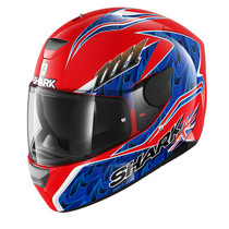 Shark D-SKWAL Fogarty helmet - Red / Blue