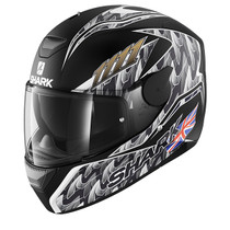 Shark D-SKWAL Fogarty helmet - Matt Black / Silver