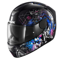 Shark D-SKWAL Anyah helmet - Black / White / Blue