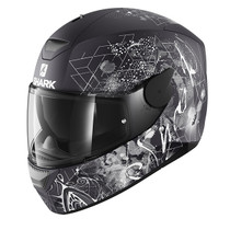 Shark D-SKWAL Anyah helmet - Matt Black / White