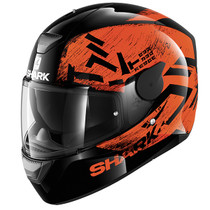 Shark D-SKWAL Hiwo helmet - Black / Orange