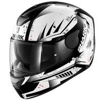 Shark D-SKWAL Dharkov helmet - Black / White
