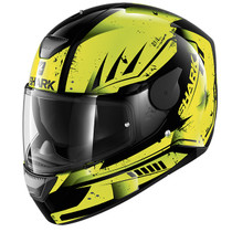 Shark D-SKWAL Dharkov helmet - Black / Yellow