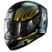 Shark D-SKWAL Dharkov helmet - Matt Black / Blue Pearlescent