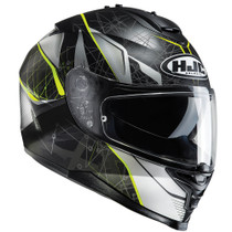 HJC IS-17 Daugava Helmet - Black / Yellow