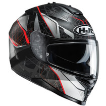 HJC IS-17 Daugava Helmet - Black / Red