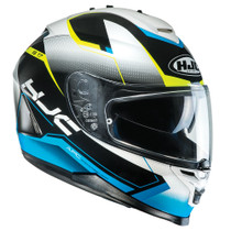 HJC IS-17 Loktar Helmet - Blue / White / Black