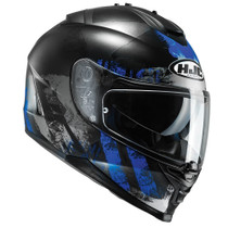 HJC IS-17 Shapy Helmet - Black / Blue