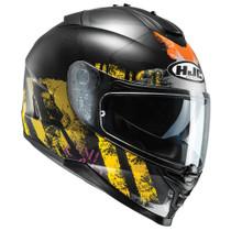 HJC IS-17 Shapy Helmet - Black / Yellow