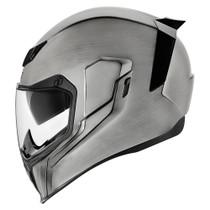 Icon Airflite Quicksilver Helmet - Silver
