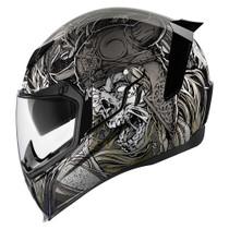 Icon Airflite Krom Helmet - Silver