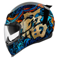 Icon Airflite Good Fortune Helmet - Blue