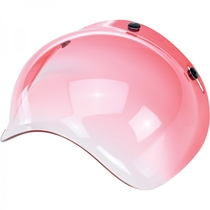 Biltwell Bubble Visor - Gradient Red