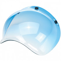 Biltwell Bubble Visor - Gradient Blue