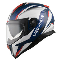 Vemar Zephir Lunar Helmet - Blue / White / Red