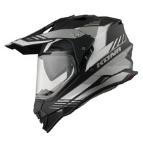 Vemar Kona Explorer Helmet - Matt Black / White