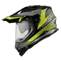 Vemar Kona Explorer Helmet - Matt Black / Flu Yellow