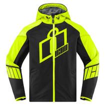 Icon Merc Crusader Jacket - Hi-Viz