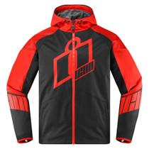 Icon Merc Crusader Jacket - Red