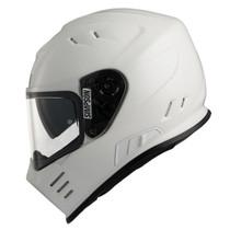 Simpson Venom Helmet - Solid White