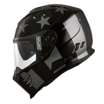 Simpson Venom Subdubed Helmet - Black / Grey