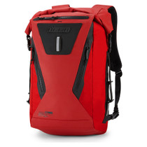 Icon Dreadnaught Waterproof Backpack - Red