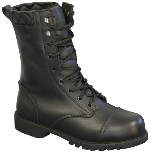 0de08b0b7 Merlin Ladies Combat Boots - Black | Bolt Bikes