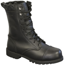 Merlin Ladies Combat Boots - Black