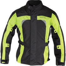 Richa Bolt Textile Jacket - Black / Flou Yellow