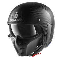 Shark S-Drak Carbon Skin Helmet - Black