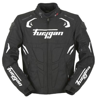 Furygan Blast Jacket - Black / White