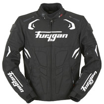 Furygan Blast Jacket - Black / White