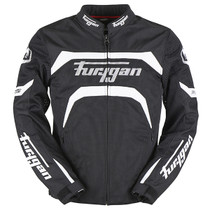 Furygan Arrow Vented Jacket - Black / White