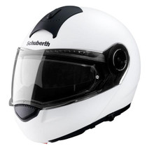 Schuberth C3 Basic Flip Front Helmet - White