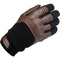 Biltwell Bantam Gloves - Chocolate Brown / Black