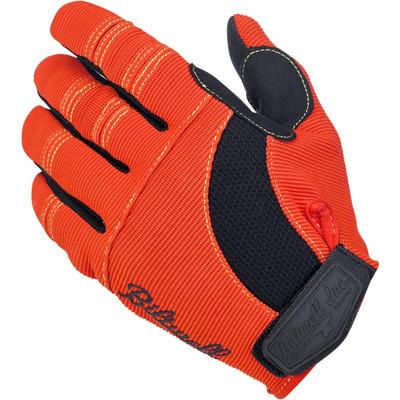Biltwell Moto Gloves - Orange / Black / Yellow