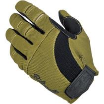 Biltwell Moto Gloves - Olive / Black