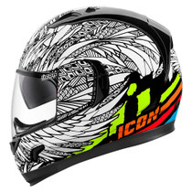 Icon Alliance GT Bird Strike Helmet - White