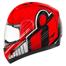 Icon Alliance Overlord Helmet - Red