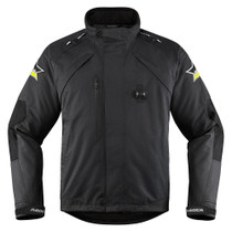 Icon Raiden DKR Monocromatic Jacket - Black