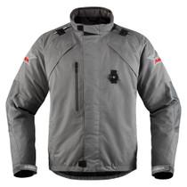 Icon Raiden DKR Monocromatic Jacket - Grey