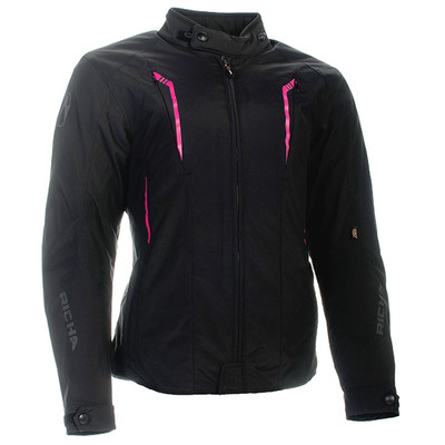 Richa Chloe Jacket - Black / Pink