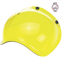 Biltwell Bubble Antifog Visor - Yellow