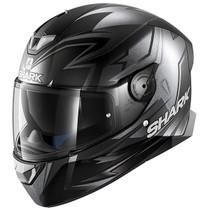Shark Skwal 2 Oliveira Mat Helmet - Matt Black / Silver