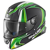 Shark Skwal 2 Sykes Mat Helmet - Matt Black / Green / White