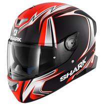 Shark Skwal 2 Sykes Mat Helmet - Matt Black / White / Orange